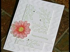 Stampin' Up Mother's Day Handmade Card using Choose Happiness – Paper Into Love
