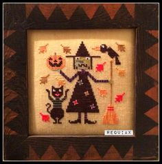 Cross stitch. Stitched by me, pattern by Birds of a Feather
