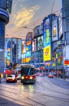 Mind's Eye — Evening 31 August, 2012 at Dundas Square, Toronto. Toronto Street, Toronto City, London City, Toronto Vacation, Toronto Images, Vancouver, Toronto Photography, Toronto Ontario Canada, Canada Travel
