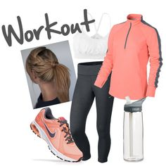 Maybe if I had a cute outfit like this I would workout....LOL