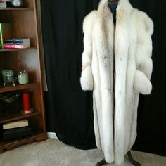 Coral fox fur coat Full length fully lined coral fox fur coat Jackets & Coats