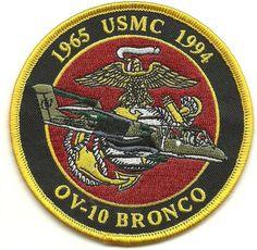 USMC OV-10 Bronco 1965-1994 Patch