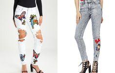 Jeans ricamati per l'estate, quali sono i modelli da non perdere e dove trovarli.