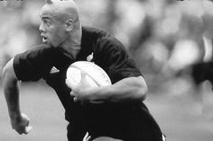 All Black legend, Jonah Lomu.
