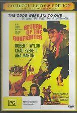 RETURN OF THE GUNFIGHTER ROBERT TAYLOR CLASSIC WESTERN  NEW ALL REGION DVD