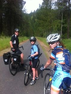 A Family Ride on the Trail of the Coeur d'Alenes — Bike Overnights