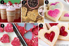 Valentines Day Heart Shaped Treats