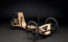 Designed by a team of German students, the Rennholz is a sleek prototype for a comfortable personal electrical vehicle.