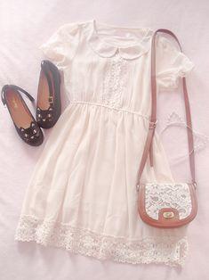 Pastel Fashion, Kawaii Fashion, Lolita Fashion, Cute Fashion, Look Fashion, Fashion Outfits, Pretty Outfits, Pretty Dresses, Cute Outfits