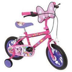 "Buy Minnie Mouse 12"" Kids' Bike from our Children's Bikes range - Tesco.com"