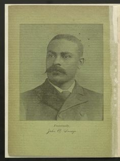 Reverend John A. Presbyterianism and the Negro, Franklinton, N.: Franklinton Printing Co., From the African American Perspectives Collection in the Rare Book and Special Collections Division at the Library of Congress. Library Of Congress, Black History, Division, Savage, Vintage Photos, Birth, Printing, African, Portraits