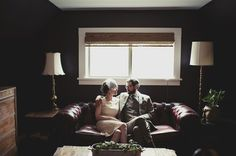a wedding at home (from apt therapy)
