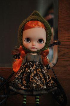 Atomic Blythe Mori Dress Outfit Set for Neo Blythe by AtomicBlythe, $65.00