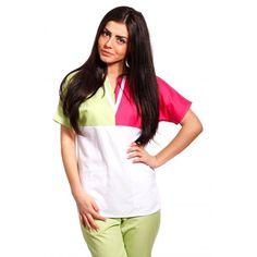 Bluza Unisex in Trei Culori TG-003 - aspect elegant, confort maxim, rezistenta sporita. Destinate industriei alimentare, farmaceutice sau spitalelor, ideal pentru utilizarea de catre medici, asistente medicale in cabinete medicale, spitale, policlinici, etc. Produsele au o gama variata de culori si sunt realizate din materiale agreate de normele UE: 75% bumbac, 25% vascoza.   http://incaltamintemedicala.ro/uniforme-medicale/tg-003-bluza-unisex-in-trei-culori-tag