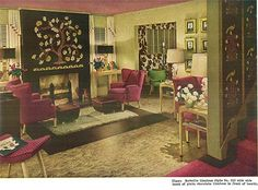 We take a look at room full of 1940s decor designed by Hazel Dell Brown, one of the most surprisingly influential designers in midcentury America!
