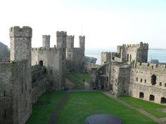 Welsh Castles - Caernarfon Castle