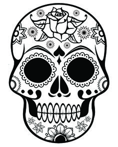 Pin by Tracy Chasteen on Day of the Dead Pinterest Skull mask