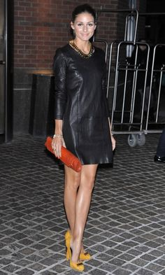 Olivia Palermo Wearing A Topshop Unique Skirt To A Business Meeting, 2010