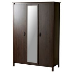 BRUSALI Ντουλάπα με 3 πόρτες - IKEA 129ευρ