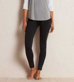 Aerie Sport-ish Pocket Legging.  Work out, but only if you want. #Aerie