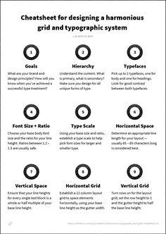 Harmonious Typography and Grids – Tradecraft – Medium