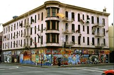 Defenestration...the house of falling furniture in S.F. in the old Hugo Hotel.