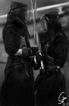 Bushido: Kendo: 剣道 is the way that leads to the soul of Samurai. Just like the Fencing leads to chivalry.