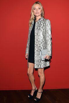 Gucci front Row, milan fashion week 9.17.14