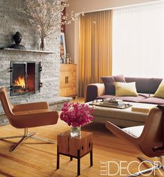 Rob Morrow and Debbon Ayer's Manhattan Living Room