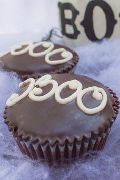 Decora tu fiesta de Halloween con estos cupcakes de trufa y sorprende a todos #MagnoliaBakeryMX #boo #halloween