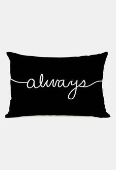 'Always' Throw Pillow