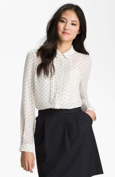 halogen-simple-dot-beige-combo-pintuck-pleat-chiffon-blouse-product-2-4256642-997802336.jpeg (1100×1687)