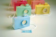 Camaras de papel