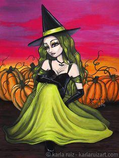 Lime Witch by Karla Ruiz