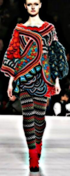 Can you ever have enough knits from the master of knits, Kenzo?!