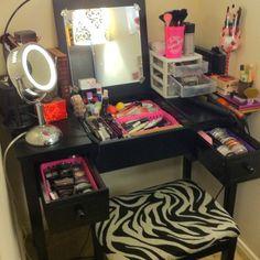 Makeup Vanity/Organization