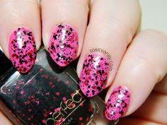 Perfect Glitter Nail Polish 41 / China Glaze Rich