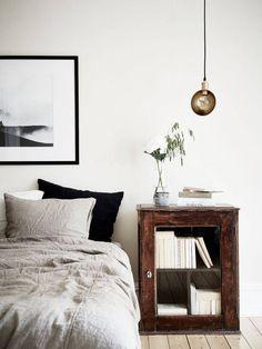 Inspiring apartment via Stadshem with design classics, beautiful...