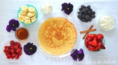 A Pretty Life in the Suburbs: Whole Wheat Crepes...A Brunch Idea!
