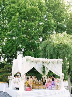 Venue: Earl Burns Miller Japanese Garden - http://www.stylemepretty.com/portfolio/earl-burns-miller-japanese-garden Wedding Dress: Enzoani - http://www.stylemepretty.com/portfolio/enzoani Photography: Luna de Mare Photography - lunademarephotography.com   Read More on SMP: http://www.stylemepretty.com/california-weddings/2016/10/06/cambodian-japanese-garden-wedding/