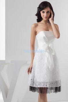 ed5731ca1db doprava zdarma 2016 nový design horké prodejce formální princezna  custommade velikost   barva krátké nevěsty dívčí šaty bílá družičky šaty