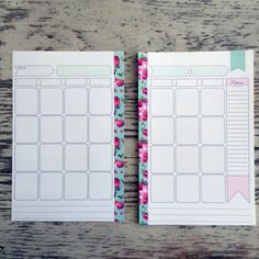 SALE! 50% off Marion Smith A5 Heart Of Gold Calendar Planner Inserts 13 pages