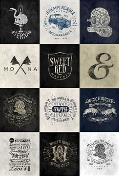 Selected Works by BMD , via Behance