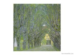 The Vivienne Files: Start with Art: Avenue in the Park by Gustav Klimt...