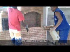 Como Fazer Churrasqueira Fogão e Forno a Lenha - YouTube