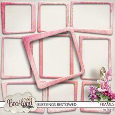 Blessings Bestowed - Frames