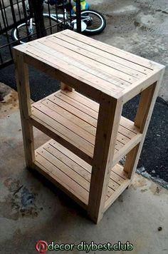 Pallet Furniture Designs, Wooden Pallet Furniture, Wooden Decor, Furniture Projects, Rustic Furniture, Diy Furniture, Outdoor Furniture, Woodworking Furniture, Furniture Stores