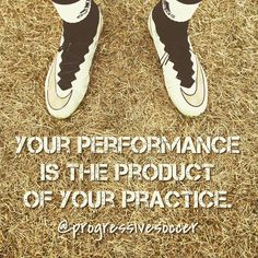 Not performing well? It's not rocket science. How often do you practice? How is the quality of your practice? How hard do you work in practice?