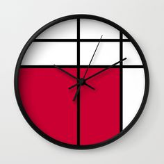 creative-wall-clock-wall-clock-designs-decorate-with-wall-clocks-mondrian-piet-mondrian-mondrian-art.jpg (570×570)