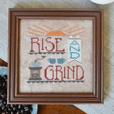 """HANDS ON DESIGNS """"Rise And Grind"""" 